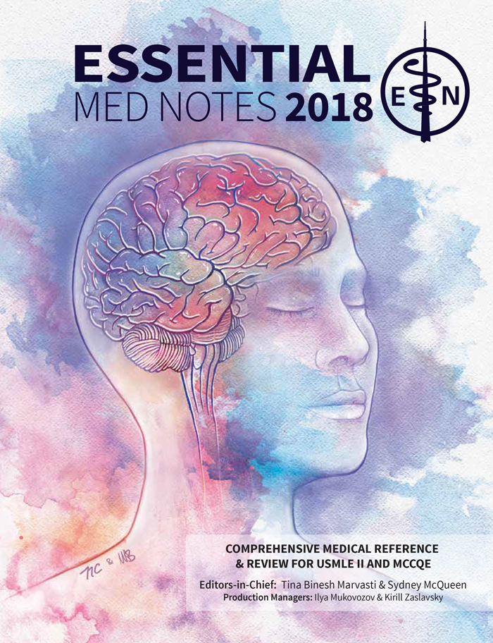Essential Med Notes 2018 Cover
