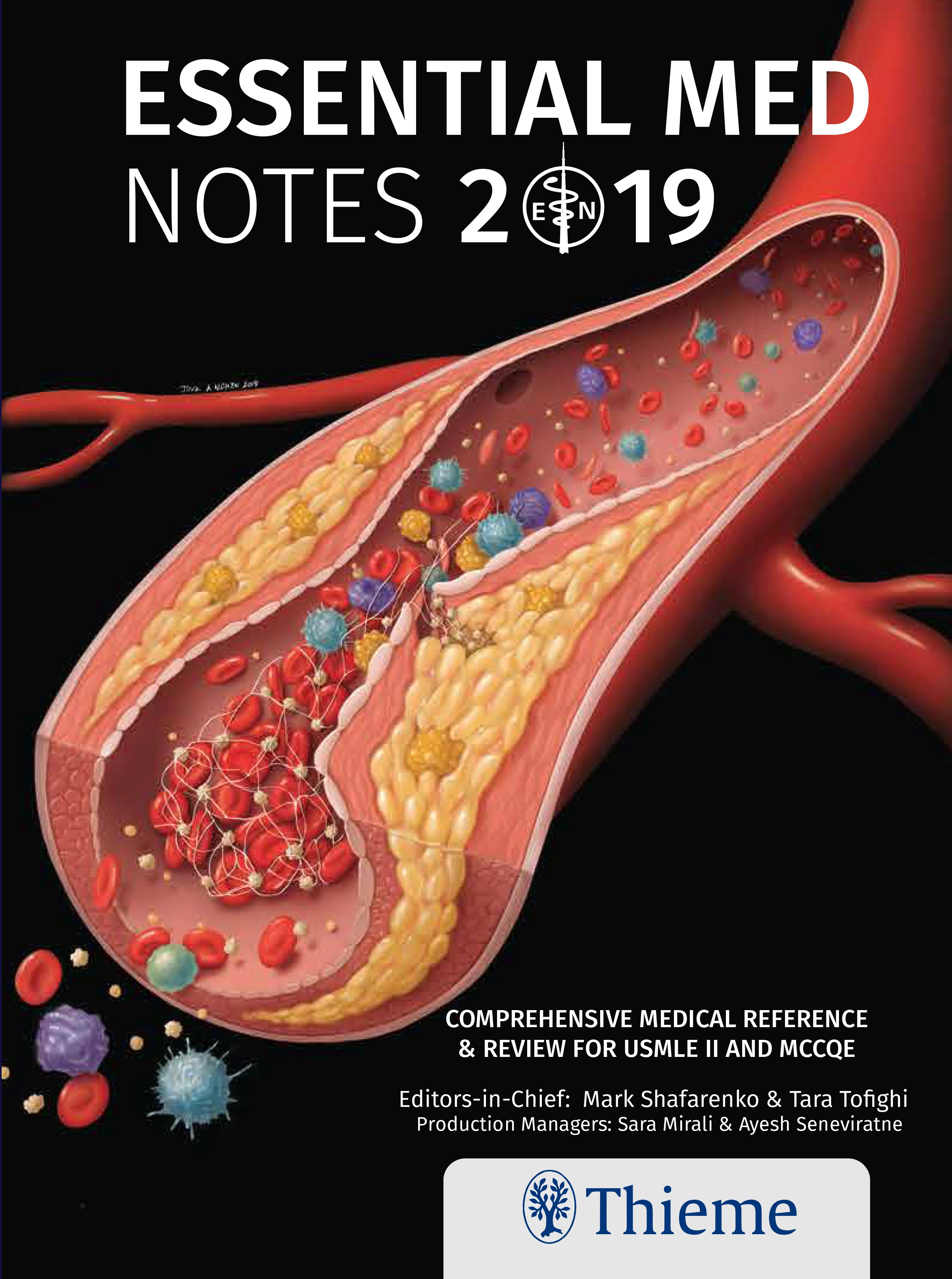 Essential Med Notes 2019 Cover
