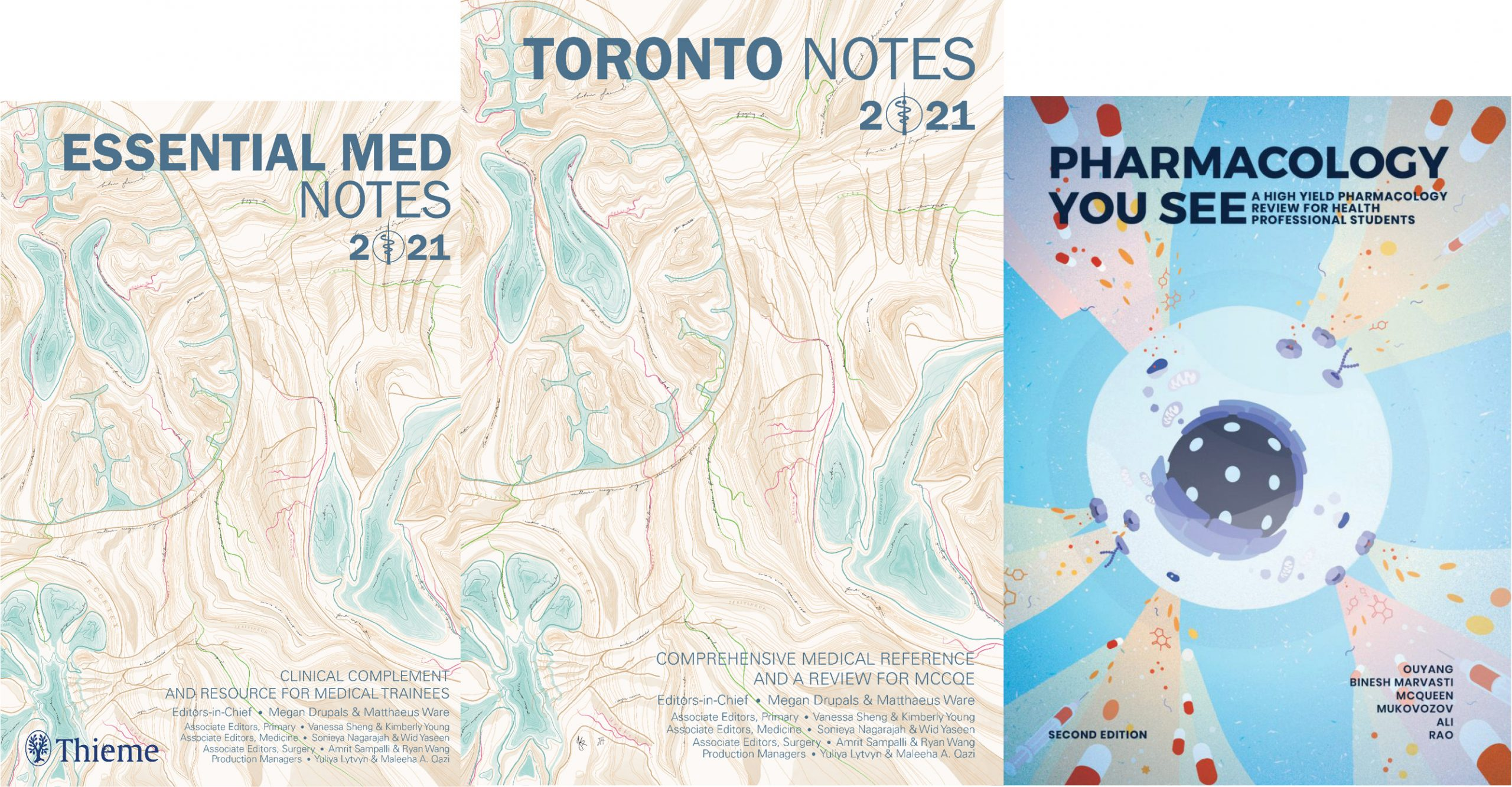 Trio of Toronto Notes Covers